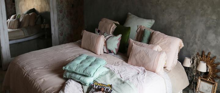 El dormitorio: calma en tonospastel