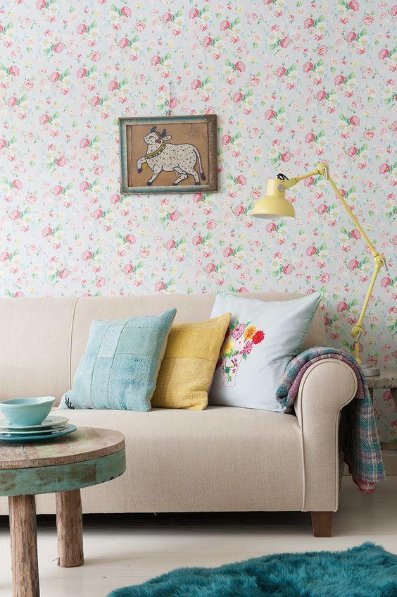 Papeles decorativos de pared papel decorativo with - Papeles decorativos pared ...