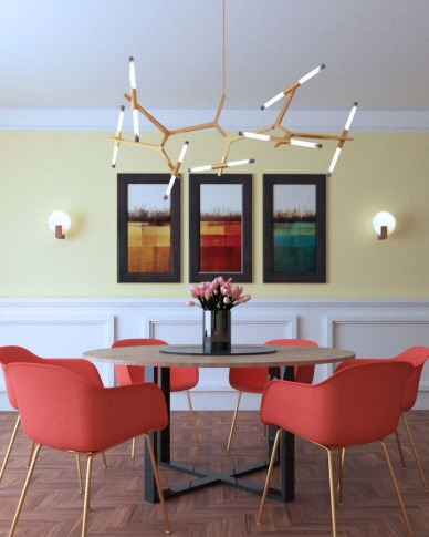 living-coral-interior-paint-color-trends-2019-1